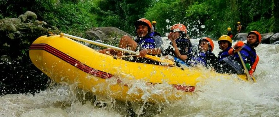 Lombok Excotic Rafting