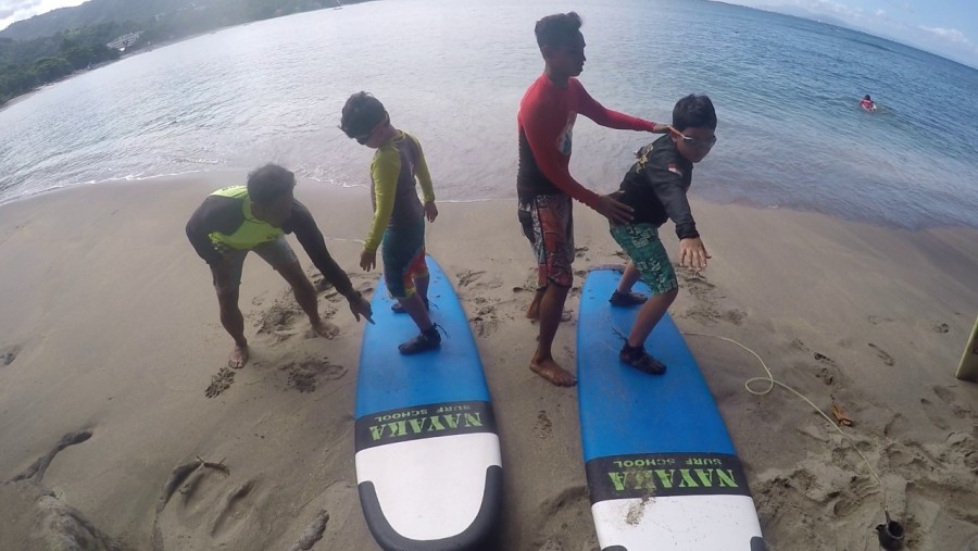 Kids Surf Lesson from 4 to 12 years