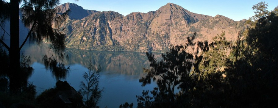 Mount Rinjani Trekking  Crater Rim Senaru 2 Days /1 Night