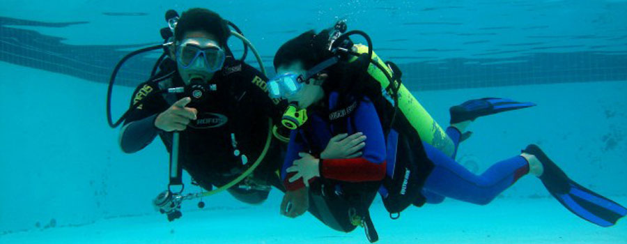Dive Course and Fun dive Package